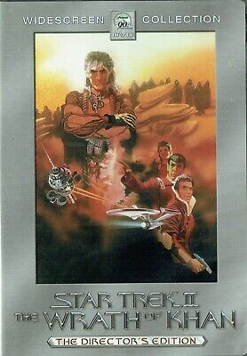 Star Trek II: The Wrath of Khan (DVD, 2002, 2-Disc Set, Directors Edtion