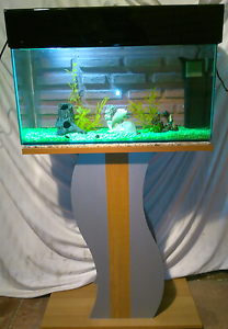 2ft Aquarium /Fish Tank with Stand and Hood Thornlie Gosnells Area Preview