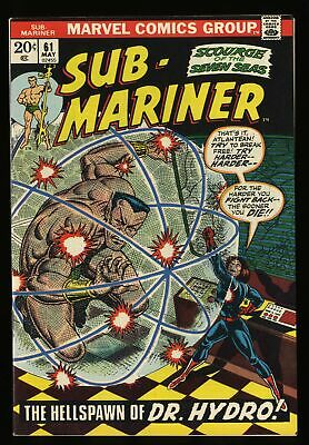 Sub-Mariner #61 VF+ 8.5 Marvel Comics