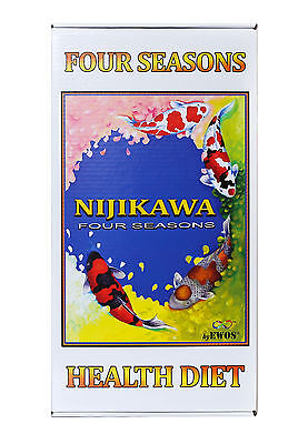 Nijikawa Four Seasons Koi Food by EWOS! Koi Fish Koi Pond Authorized eBay Dealer