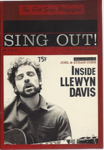 INSIDE LLEWYN DAVIS, PR BOOKLET WITH PRESS KIT