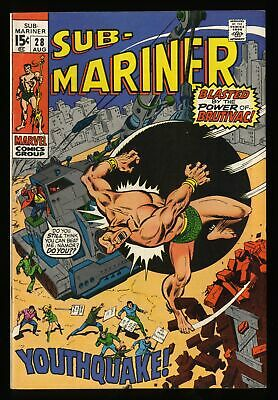 Sub-Mariner #28 VF 8.0 Tongie Farm Collection Marvel Comics