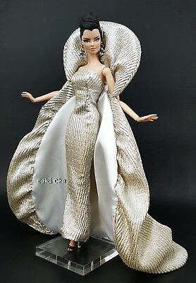 Goddess Galaxy Evening Dress Outfit Gown For Silkstone Barbie Fashion Royalty - Goddess Outfit