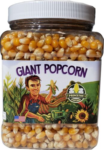 2lbs Mushroom Shaped Unpopped Popcorn Kernels from Princeton Popcorn Company