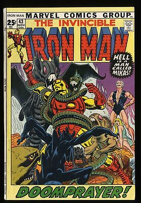 Iron Man #43 VF- 7.5 Marvel Comics 1st Guardsman!