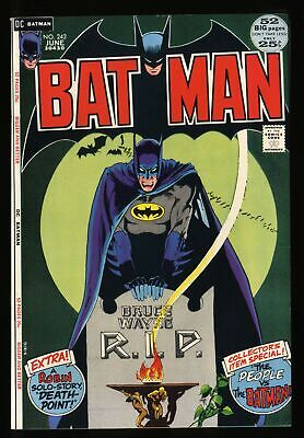 Batman #242 VF/NM 9.0