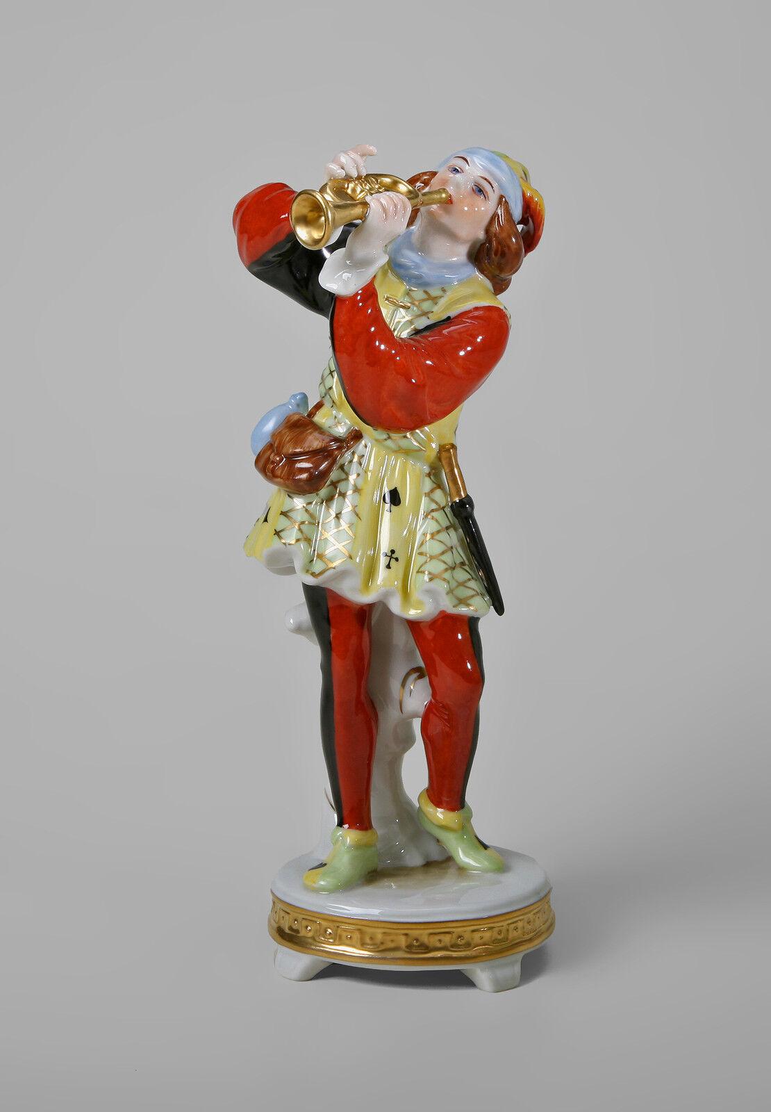 Porcellana Arlecchino Cappella Trombettista Kämmer Turingia, Germania 9944300 -  - ebay.it