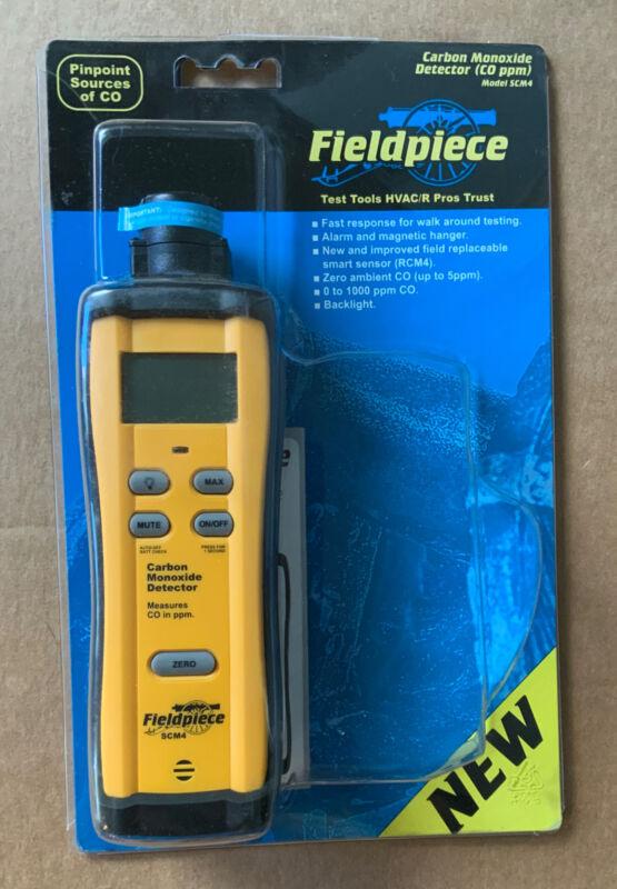 New In original package Fieldpiece SCM4 Carbon Monoxide Detector