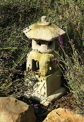 Japanese Pagoda Lantern House Outdoor Garden Statue Sculpture by Orlandi FS00005 ()