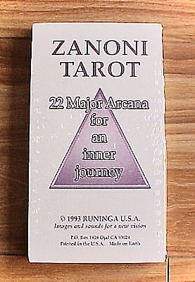 Zanoni Tarot Cards Set Deck 22 Major Arcana  Inner Journey  NEW!