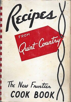 GROTON SD 1961 QUINT COUNTY DEMONCRATS CLUB * NEW FRONTIER COOK BOOK * LOCAL ADS