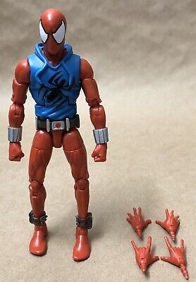 Scarlet Spider Ben Reilly Marvel Legends Rhino Series Hasbro Loose Complete