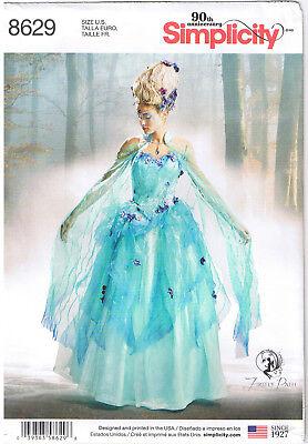 Wasser Fee Prinzessin Rollenspiel Hochzeits Kleid Kostüm Nähmuster - Wasser Fee Kostüme