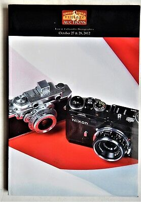 NIkon Zeiss Leica Cameras Auction Catalog Tamarkin Bertoldi 2012 Photographica