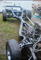 1958 to 1964 Chevy Impala X frame complete roller