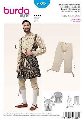 Burda Schnittmuster - Renaissance Kostüm - Kniebundhose & Jacke - Nr. (Kostüme Renaissance Muster)