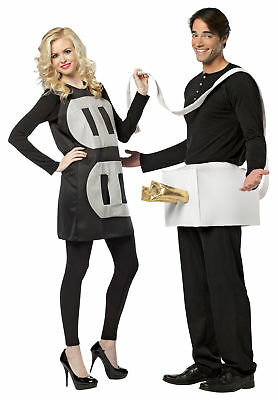 Plug And Socket Lightweight Couples Adult Costume Halloween Rasta Imposta (Couples Halloween Costumes Plug And Socket)