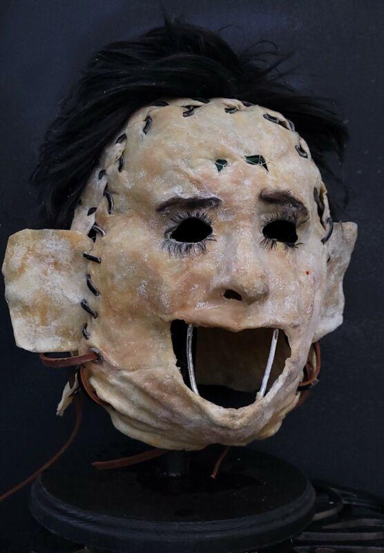 Texas Chainsaw Massacre Leatherface 1975 Killing Mask Replica