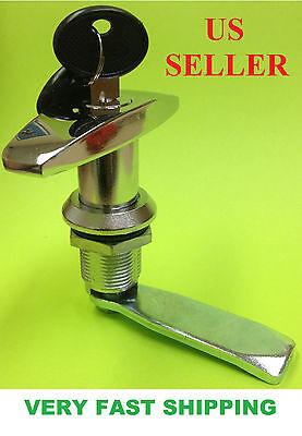 T Handle Cam Lock Chrome Coated Quarter Turn Part 064.110.20.1.1.01.70