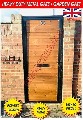 METAL GATE/ WOODEN GATE / TIMBER WOOD GATE, COMPOSITE WOOD GATE/ GARDEN GATE