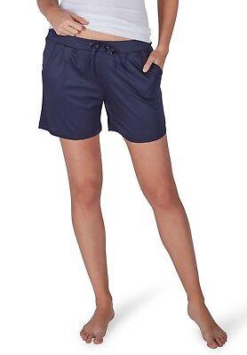 Modal Schlafen Kurz (Huber Damen Schlafanzug Kurze Hose Shorts Pyjama blau 100% Modal 18914 399)