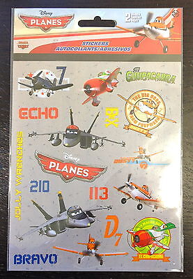 2 Sheets  Disney Planes  Stickers Party Favors Teacher Supply  Dusty Skipper - Dusty Party Supplies