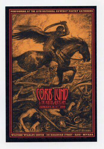 Corb Lund Postcard 2009 Jun 28 Elko NV