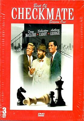 Best of Checkmate: Season 1 (DVD, 2007, 3-Disc Set) NEW - 1960's Detective