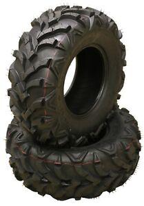 2 New AT MASTER ATV Tires 24x9-11 24X9X11 P341 6PR - 10153