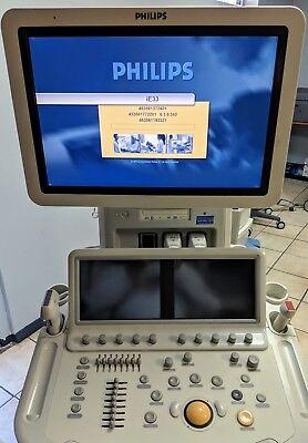 Philips Ie33 Cardio Vascular W1 S5-1 Echo Probe Ultrasound Unit