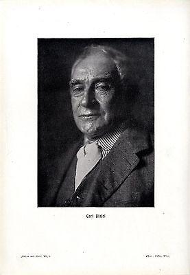 Karl Blasel 60jähriges Bühnen-Jubiläum von Ludwig Klinenberger Text & Druck 1909