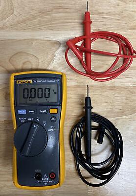 Fluke 114 True Rms Multimeter 600v