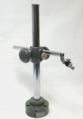 Generic Retort Stand Or Specimen Holder 22 H 16 Arm Cast Iron Base Tested