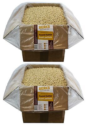 Peanut butter suet feed pellets for wild garden birds 25kg FREE P&P