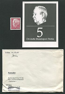 BERLIN FOTO ESSAY 314 15 L BKE 1967 PHOTO ESSAY PROOF RARE E194