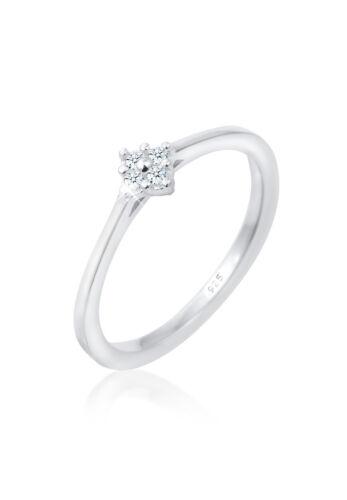 Verlobung Diamant Ring Geschenktipp 925 Silber natürliche Diamanten Diamore Neu