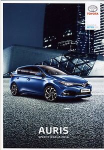 Toyota Auris 05 / 2016 catalogue brochure depliant - <span itemprop='availableAtOrFrom'> Varsovie, Polska</span> - Toyota Auris 05 / 2016 catalogue brochure depliant -  Varsovie, Polska