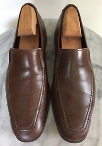 ALLEN EDMONDS Bucktown Men's Brown Leather Loafers Size 7.5D