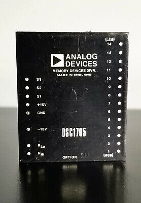 Analog Devices Dsc 1705 Option 511 Low Profile Resolver-to-digital Converter