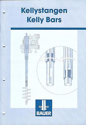 Equipment Brochure - Bauer - Kelly Bars - C2001 E3443