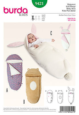 Schnittmuster burda style No 9421 Babynest