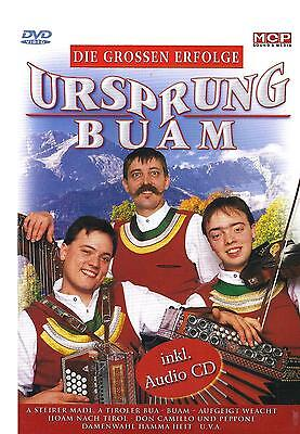 Großes Cd Dvd (Ursprung Buam - Die grossen Erfolge   CD+DVD)
