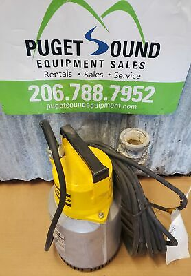 "2"" Submersible Trash Pump, 230V, 118gpm , Dewatering,  Pond Pump, 3 Phase"