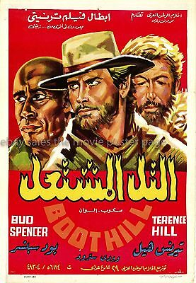 Boot Hill 1969 Terence Hill Egyptian one-sheet movie poster
