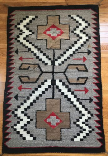 authentic native american wool rug