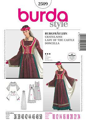 uster - Historisches Kleid - Burgfräulein- Jungfer - Nr.2509 (Historische Kleid)