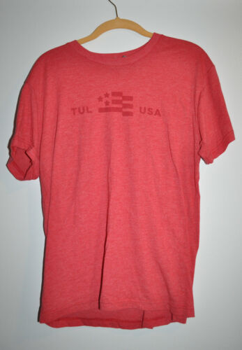 RARE OFFICIAL Hanson Brothers Beer RED Shirt! Size Medium!
