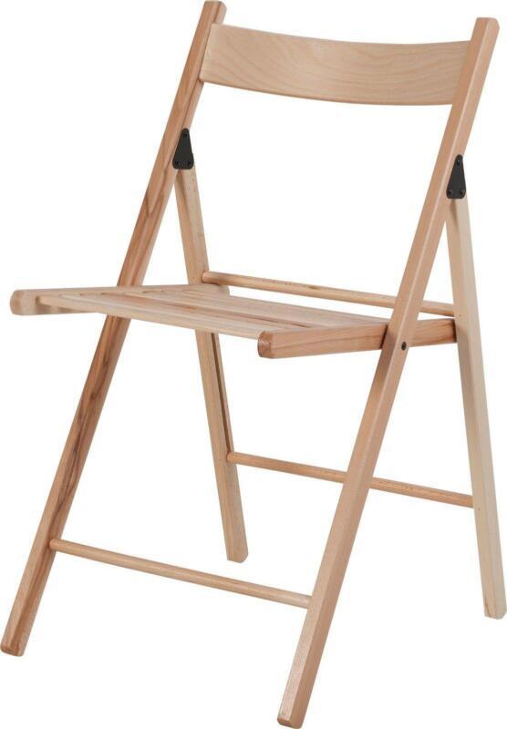 wooden folding chairs ebay. Black Bedroom Furniture Sets. Home Design Ideas