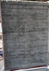 New Sheer Mocha Plush Viscose Pile 160x230 Plain Floor Rugs Melbourne CBD Melbourne City Preview