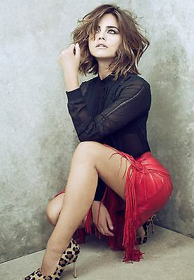 "Jenna Louise Coleman 10"" x 8"" Photograph no 18"